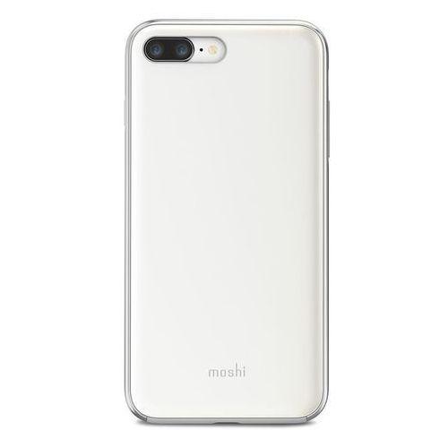 Moshi iGlaze - Etui iPhone 8 Plus / 7 Plus (Pearl White), 99MO090101