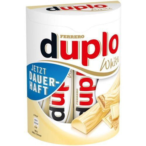 Kinder Ferrero duplo white batoniki 10 szt 182g