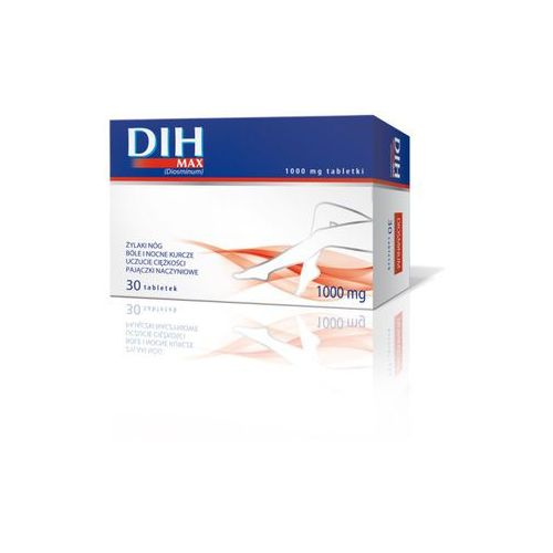 Dih max 1000 mg x 30 tabl - produkt farmaceutyczny