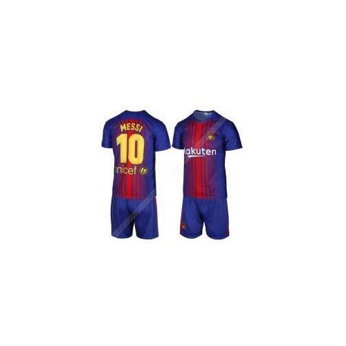 MESSI BARCELONA - strój komplet piłkarski 2017/18