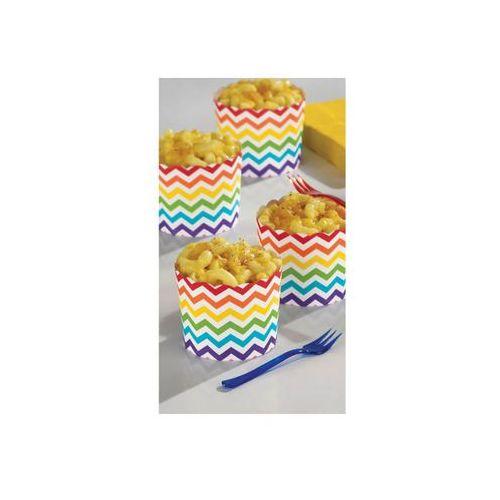 Foremki na słodycze w kolorowe zygzaki - 24 szt. (0013051671655)