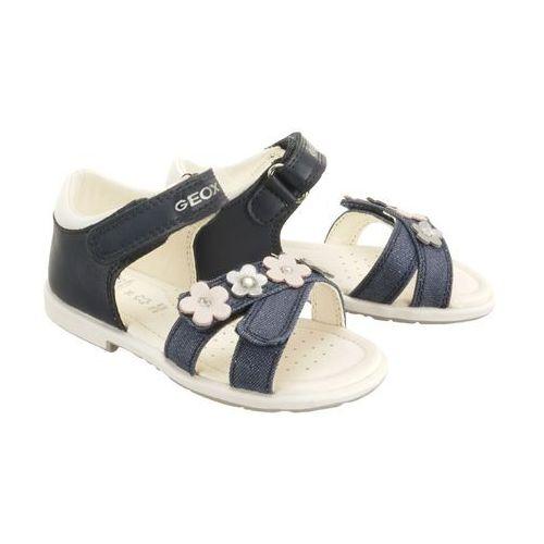 Geox b9221c baby verred 0bclg c4002 navy, sandały dziecięce, rozmiary: 24-27