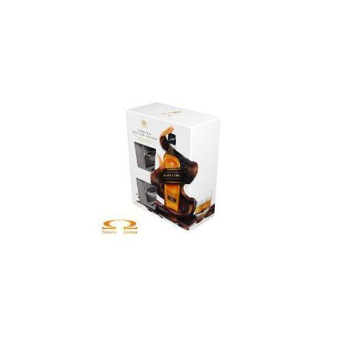 Whisky Johnnie Walker Black Label 0,7l Limitowana Edycja + 2 szklanki, 9938-1661F