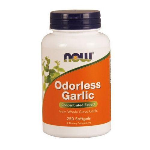 Now Foods Garlic Odorless Czosnek bezzapachowy 250 kaps.