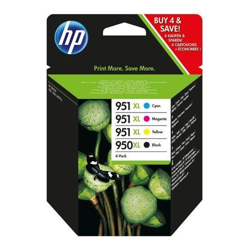 Zestaw 4 tuszy HP 950XL + 951XL CMYK (C2P43AE) - KURIER UPS 14PLN, Paczkomaty, Poczta