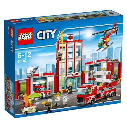 60110 REMIZA Fire Station KLOCKI LEGO CITY
