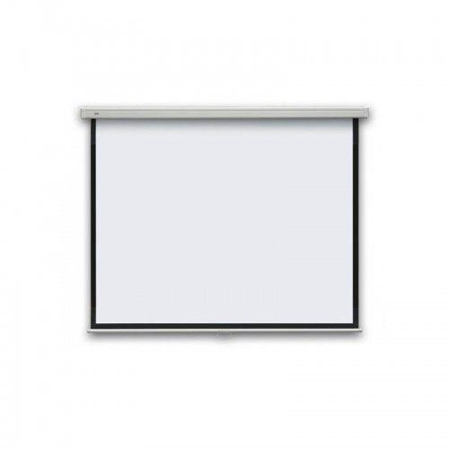 Ekran projekcyjny ręcznie rozwijany eco , 1:1, 150x150cm marki 2x3