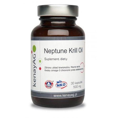Kapsułki Neptune krill oil - olej z kryla NKO 30 kaps. - Kenay