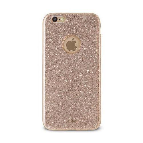 Etui PURO Glitter Shine Cover do iPhone 6/6s Złoty