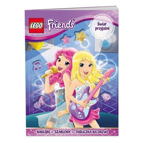 KSIĄŻKA LEGO FRIENDS - ŚWIAT PRZYJAŹNI
