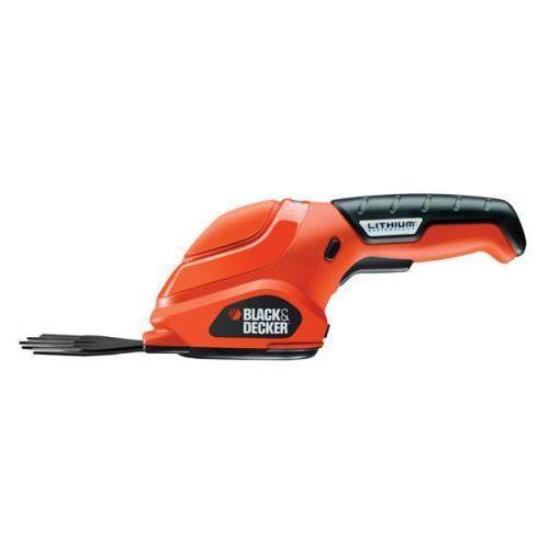 Akumulatorowe nożyce do trawy 3,6 V Black&Decker GSL200 - oferta (05d3247c57e1b255)