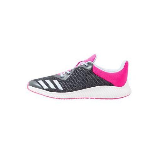 Adidas  performance fortarun obuwie do biegania treningowe dark grey/easy blue/shock pink