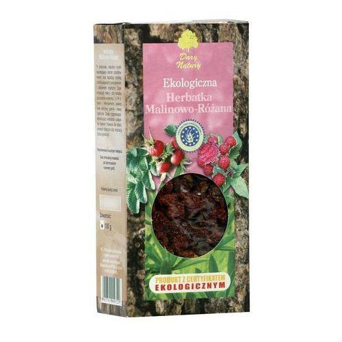 MALINOWO - RÓŻANA EKO 100g - Dary Natury herbata (5902741009722)