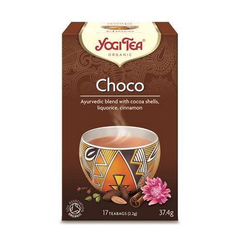 Yogi tea, usa Herbata czekoladowa choco z kakao bio (yogi tea) 17 saszetek po 2,2g
