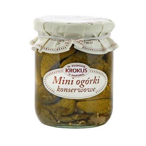 Krokus 500g mini ogórki konserwowe tradycyjna receptura