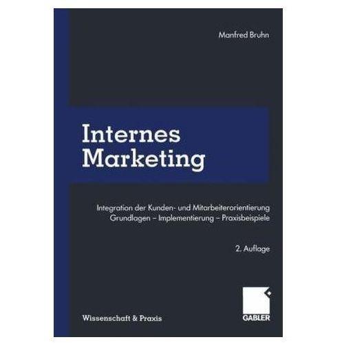 Internes Marketing Bruhn, Manfred (9783663059745)