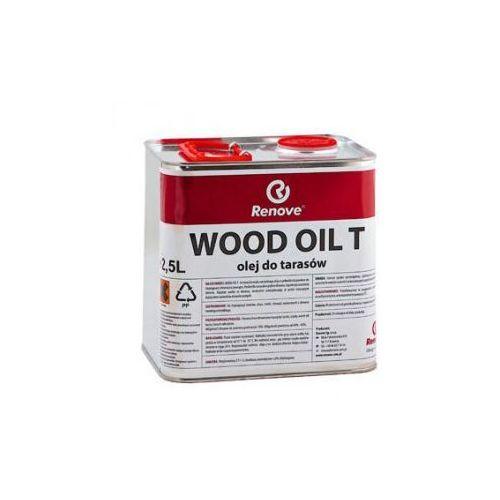 WOOD OIL T - Olej do tarasów 2,5 L (deska tarasowa)