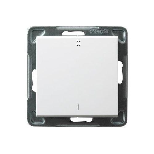 Wyłącznik dwubiegunowy Ospel Sonata ŁP-11R/M/00 16AX IP20 biały (5907577444136)