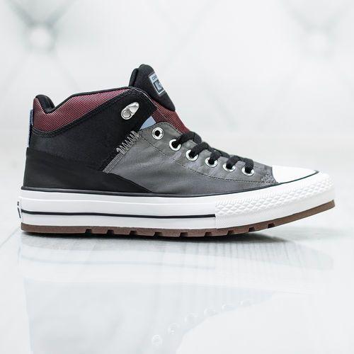 Converse Ctas Street Boot HI 161470C, kolor szary