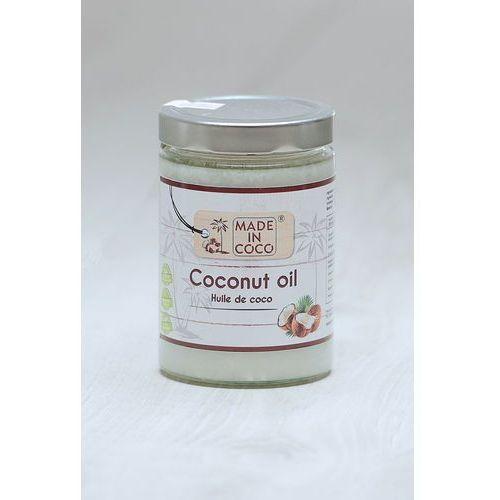 Olej kokosowy tłoczony na zimno 100% BIO Made in Coco 500 ml