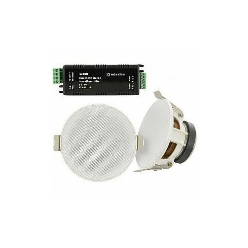 Adastra sl3-bt sl3 speakers + iw30b amplifier package, kompletny zestaw do instalacji dźwięku (5015972200216)