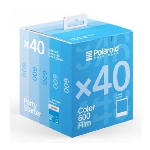Impossible Polaroid originals 600 color wkłady 5-pack do aparatu polaroid z białymi ramkami