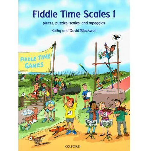 Pwm blackwell kathy - fiddle time scales, z.1. utworki, zabawy, gamy i pasaże na skrzypce