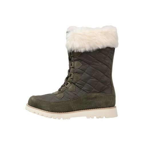 Aigle LAVRAS Śniegowce dark khaki, rozmiar od 36 do 42, zielony