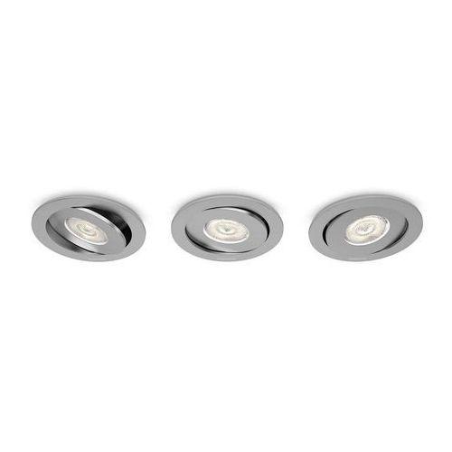 Philips 59183/48/16 - ZESTAW 3x LED oprawa wpuszczana ASTEROPE 3xLED/4,5W/230V
