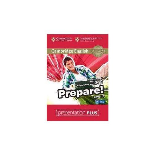 Cambridge English Prepare! 5 Presentation Plus (Płyta DVD) (9781107497894)