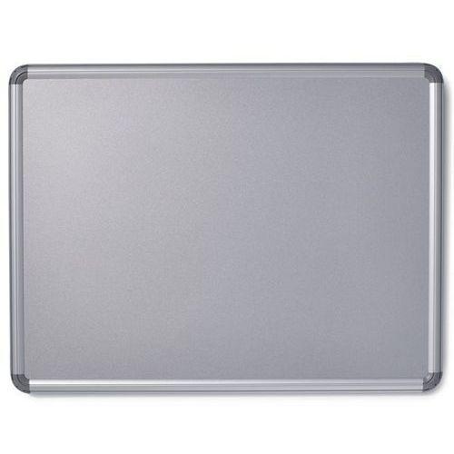 Tablica ścienna design, lakierowanie na kolor srebrny, szer. x wys. 1200x900 mm. marki Office akktiv