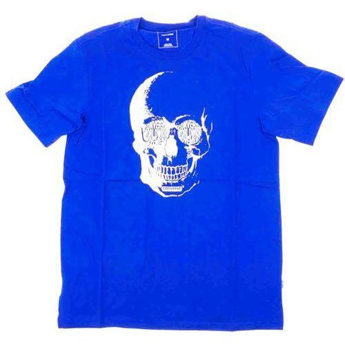 koszulka CONVERSE - Van De Wall Skull Tee Laser Blue (A03) rozmiar: XL, kolor niebieski