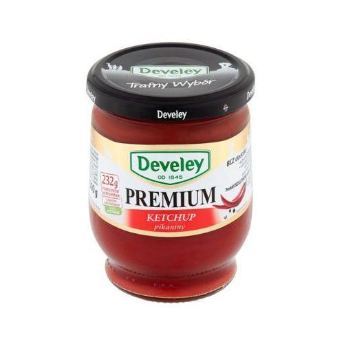 DEVELEY 300g Ketchup Premium pikantny aż 232g pomidorów na 100g produktu