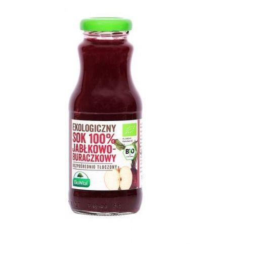 Sok jabłkowo-buraczkowy 100 % bio 250 ml marki Eko wital