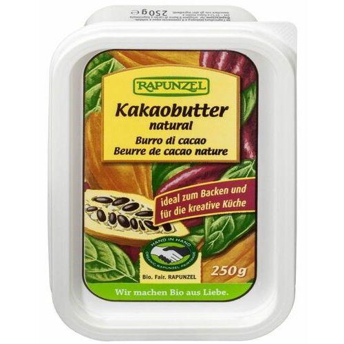 Tłuszcz kakaowy (kostka) fair trade bio 250 g - marki Rapunzel