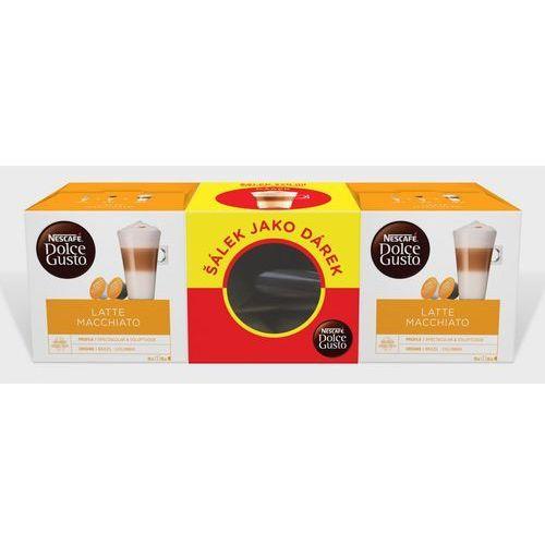 dolce gusto® kapsułki do kawy latte macchiato podwójne oopakowanie z kubkiem marki NescafÉ