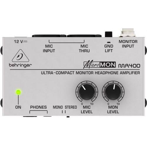 ma400 pro micromon kompaktowy monitorowy wzmacniacz słuchawkowy marki Behringer