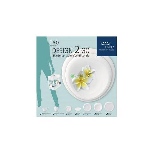 KAHLA Tao Porcelana 'Design 2 Go' Serwis Kawowo-Obiadowy 14 el - produkt z kategorii- Serwisy obiadowe