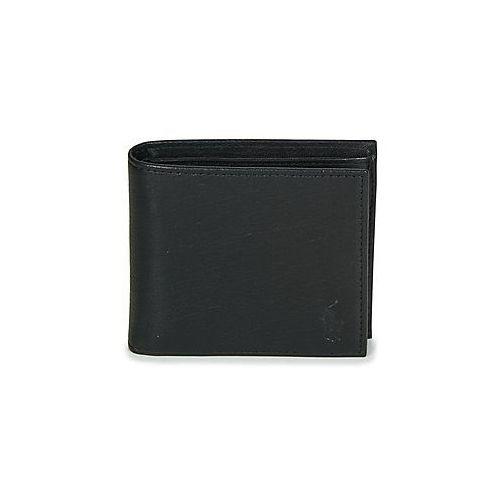 Portfele Polo Ralph Lauren EU BILL W/ C-WALLET-SMOOTH LEATHER, kolor czarny