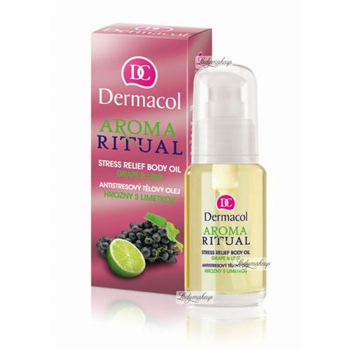Dermacol aroma ritual body oil grape&lime 50ml w olejek do ciała (8595003103114)