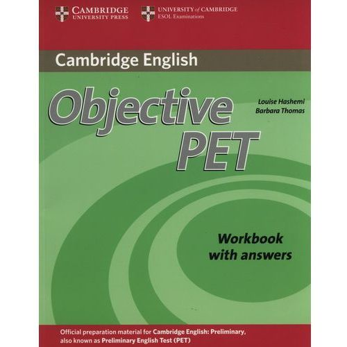 Objective PET (2nd Edition) Workbook (zeszyt ćwiczeń) with Answers (2010)