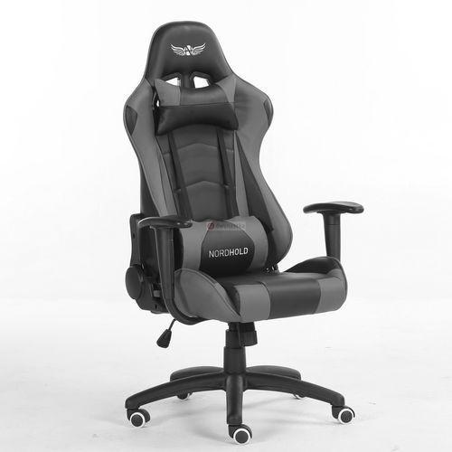 Obrotowy fotel gamingowy NORDHOLD - YMIR - szary (5908239699468)