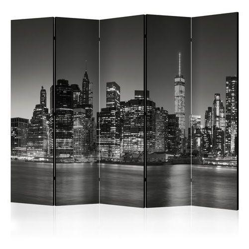 Artgeist Parawan 5-częściowy - nowojorskie noce ii [room dividers]