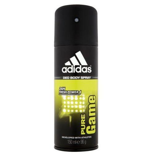 Adidas pure game men, 150 ml. dezodorant spray - adidas od 24,99zł darmowa dostawa kiosk ruchu (3607345373393)