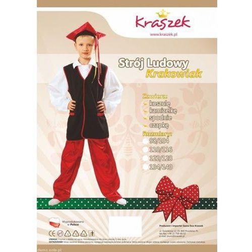 Strój Krakowiaka - przebrania dla dzieci - 110/116 ze sklepu www.epinokio.pl