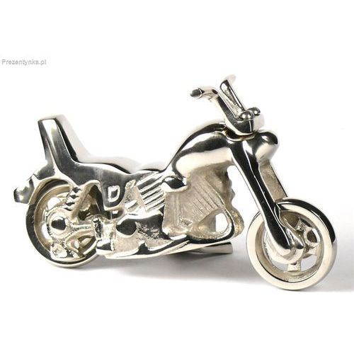 Metalowy model motocyklu retro motor