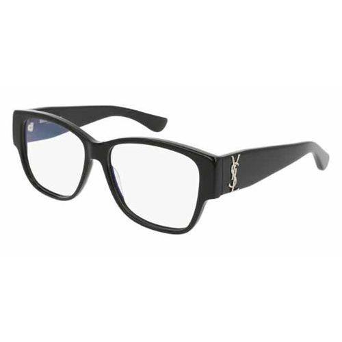 Okulary korekcyjne sl m7 001 marki Saint laurent