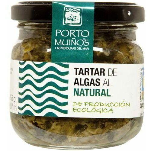 Porto muinos Sałatka z algami morskimi, ogórkiem konserwowym i kaparami bio 160 g -