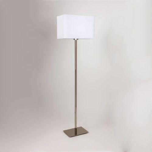 Park Lane floor lamp,w/o shade, polished chrome finish, 4507