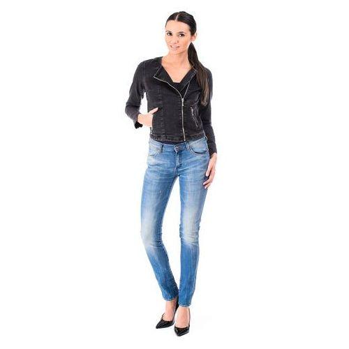 "Kurtka Levi's Collarless Moto Trucker ""Black Fog"" - produkt dostępny w BeJeans"